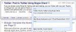 Condividi su Twitter da Google Reader (tremate)
