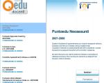 PuntoEdu Indire: Formazione online Neoassunti 2008 (parte prima)