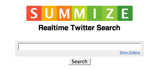 Summize: cercare in Twitter in tempo reale