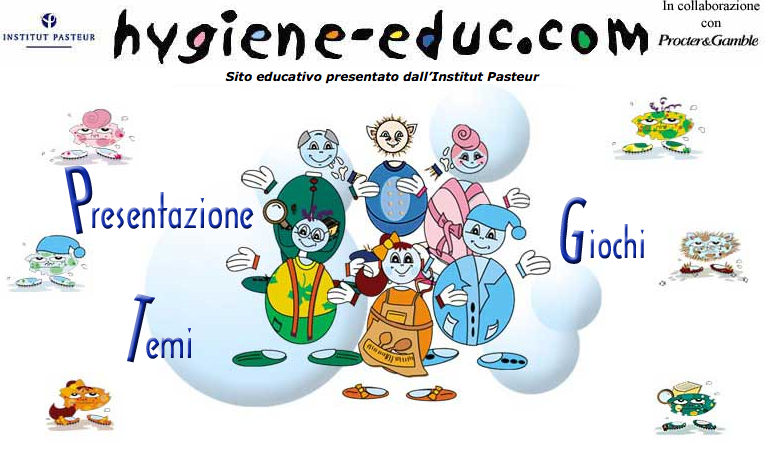 Popolare Hygiene-educ: educare i bambini all'igiene con internet - Catepol 3.0 FQ02