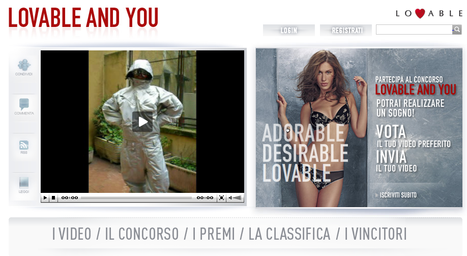 [Marchetta] Concorso Lovable and You