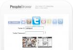 PeopleBrowsr: i contatti dei social network come non li hai mai visti