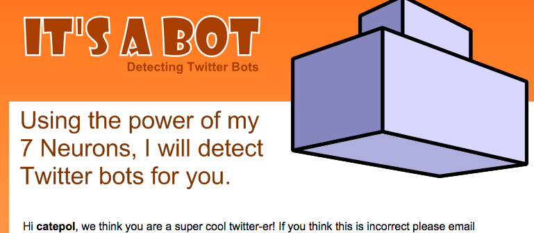 Itsabot.com: scova i bot su Twitter