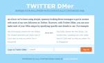 TwitterDMer: DM di benvenuto automatici ai nuovi Follower su Twitter