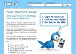 Twe2: notifiche SMS per Twitter (DM e replies)