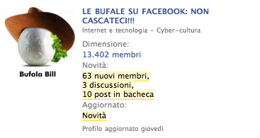 LE BUFALE SU FACEBOOK: NON CASCATECI!!! (11) &#8211; Come capire che si tratta di Bufale