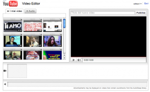 Youtube Video Editor: modificare e editare video direttamente online