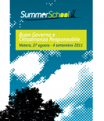 "Summer School RENA ""Buon Governo e Cittadinanza Responsabile"""