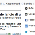 Da Google Reader a Twitter, Facebook, Friendfeed ecc.