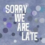 Commissione web: ci scusiamo per il ritardo