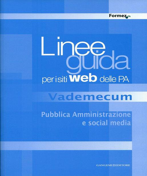 Vademecum Pubblica Amministrazione e Social Media