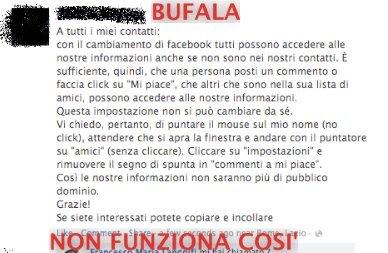 A tutti i miei contatti Facebook, ora sono io a chiedere un favore&#8230;