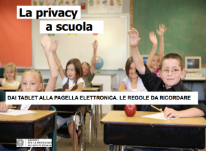 La privacy a scuola: dai tablet alla pagella elettronica, le regole da ricordare