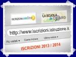 Iscrizioni online 2013 – Considerazioni e Guida
