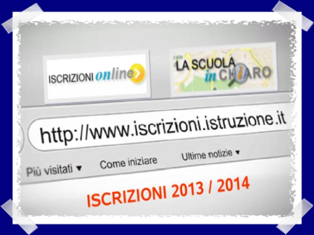 Iscrizioni online 2013 &#8211; Considerazioni e Guida